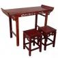 国学桌书法桌临摹桌数字书法教室棋盘桌实木国学桌书法桌
